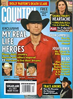 Dolly Parton's Death Scare / Kenny Chesney: My Real Life Heroes / Shania Twain's Heartache / Glen Campbell: How He Reinvented Himself / Josh Turner: His Tribute to Billy Graham (Country Weekly, Volume 15, Number 20, October 6, 2008)
