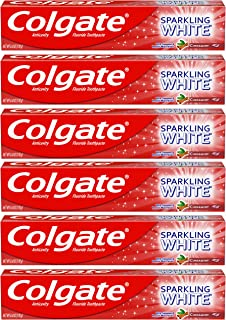 Best Colgate Sparkling White Cinnamon Toothpaste with Fluoride - 6 ounce (6 Pack) Review