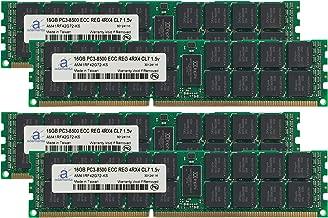 Adamanta 64GB (4x16GB) Server Memory Upgrade for IBM System x3650 M3 7945 DDR3 1066Mhz PC3-8500 ECC Registered 4Rx4 CL7 1.5v