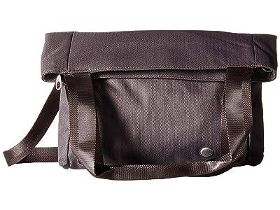 Haiku Lyric Fold-Over Tote (Shale) Tote Handbags