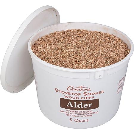 alder wood shavings for meat smoke 200 g