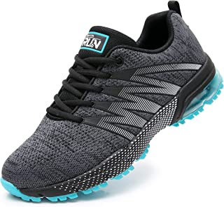 Axcone Homme Femme Air Running Baskets Chaussures Outdoor Running Gym Fitness Sport Sneakers Style Multicolore Respirante ...