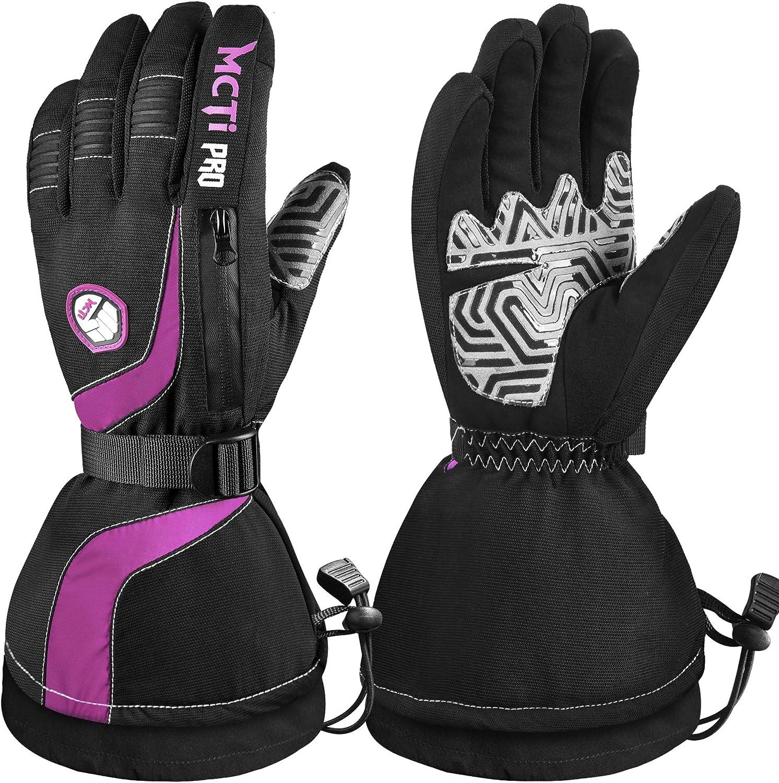 Free shipping New MCTi Ski Gloves Winter Waterproof Nylon Screen unisex Touch Thinsulate