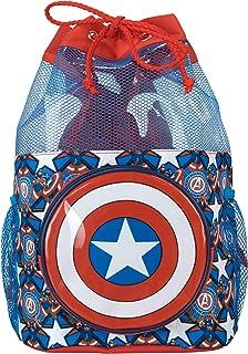 Bolsa de Natación para Niños Capitán América
