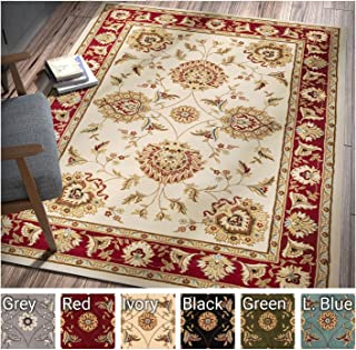 Sultan Sarouk Ivory Persian Floral Oriental Formal Traditional 3x12 (2'7