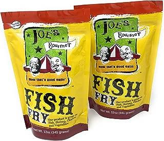 Joes Gourmet Fish Fry Seasoning Mix - As Seen On Shark Tank (Original, 2-Pack)