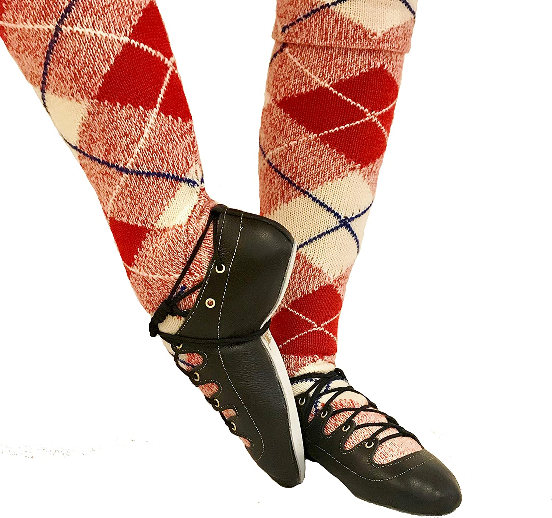 toeandheelGold Highland Dance Ghillies Open Toe 4