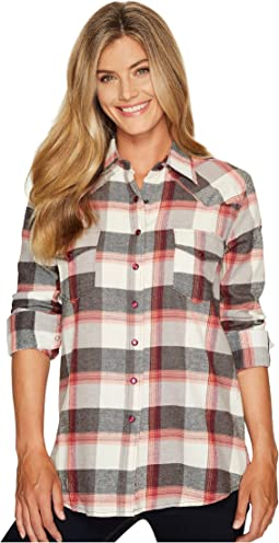 Cruel - Long Sleeve Boyfriend Fit Twill Plaid