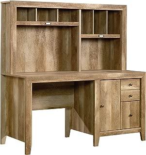 Sauder Dakota Pass Computer Desk, Craftsman Oak finish