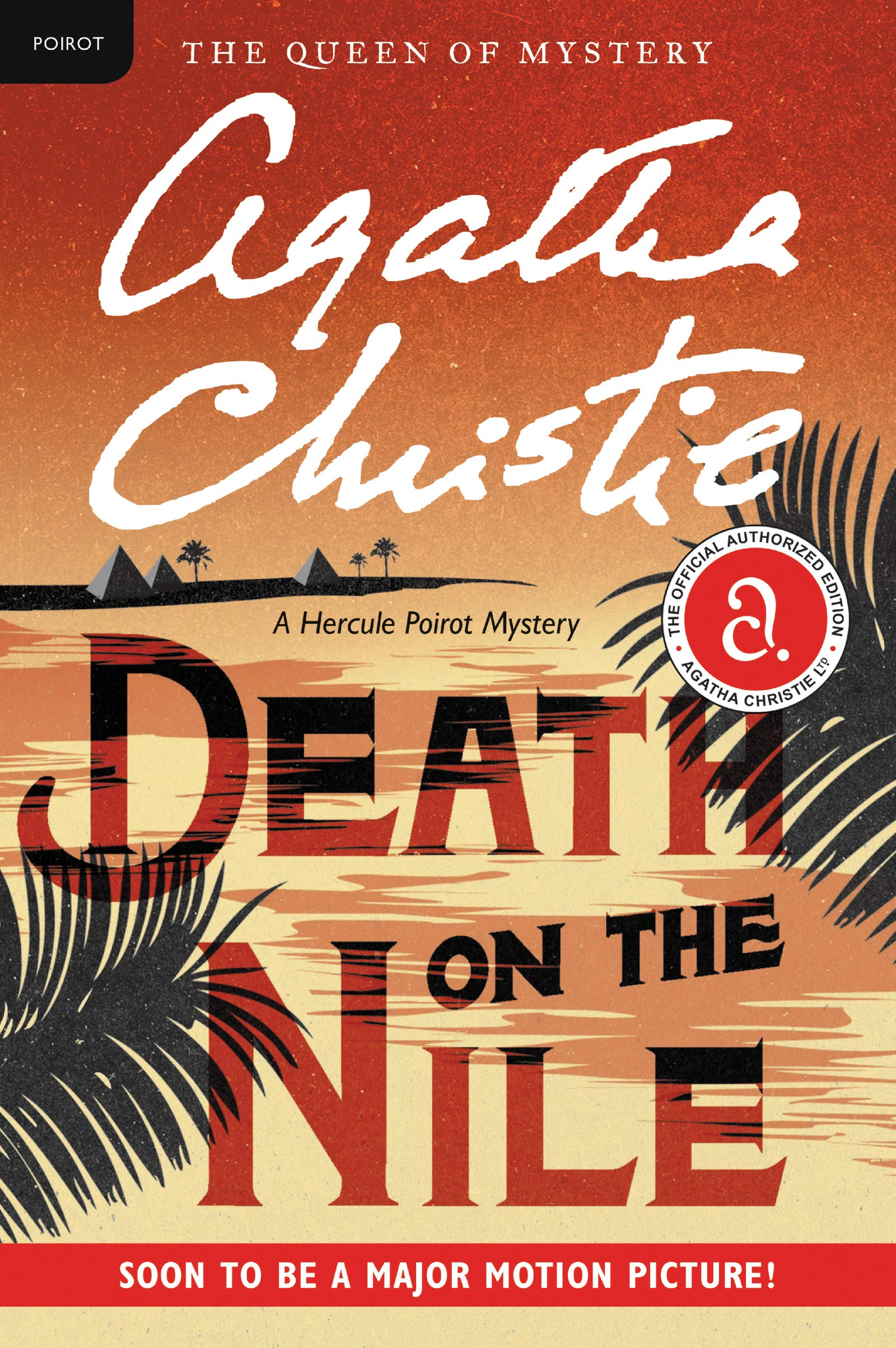 Cover image of Death on the Nile by Agatha Christie