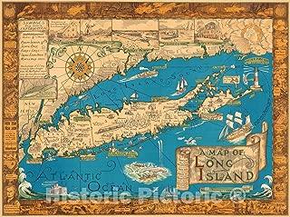 map on long island