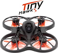 EMAX Tinyhawk S 1-2s Brushless Micro Indoor Racing Drone Whoop 75mm BNF FRSKY Ready to Fly FPV Beginners Durable Inverted ...