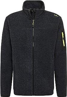 CMP Men's Jacquard Fleece Jacket with Hood