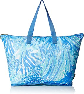 lilly packable tote