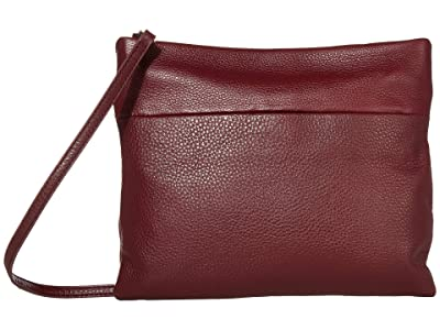 The Sak Tomboy Convertible Clutch by The Sak Collective (Cabernet) Clutch Handbags