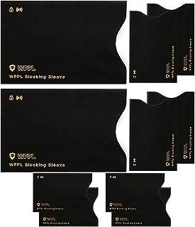 RFID Sleeves Credit Card Sleeve – Credit Card Protector Sleeves Blocks Credit Cards..
