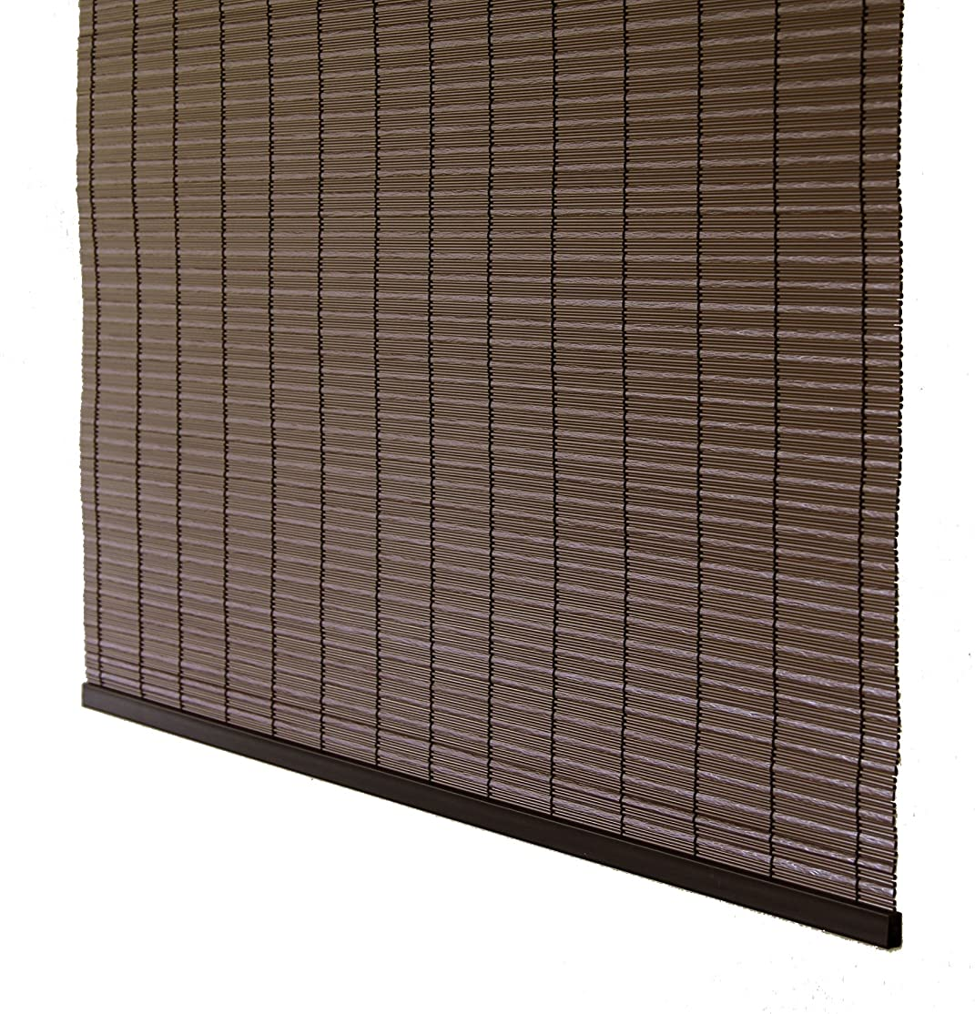 オーストラリア近々パフ三宅製簾 すだれ PP グランツ 88×180 ダークブラウン