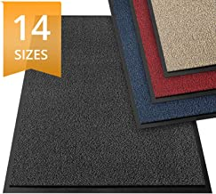 etm Dirt Trapper Door Mat - Barrier Mat | Indoor and Outdoor Mats for Front Door | Super Absorbent & Non-Slip Doormats | Anthracite/Mottled - 60x90cm