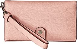 COACH - Polished Pebble Phone Wristlet