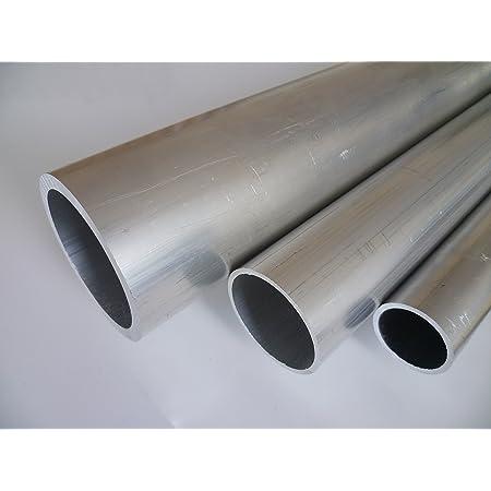 K240 L/änge 300mm 30cm auf Zuschnitt Edelstahl Rundrohr V2A /Ø 10x1,5mm
