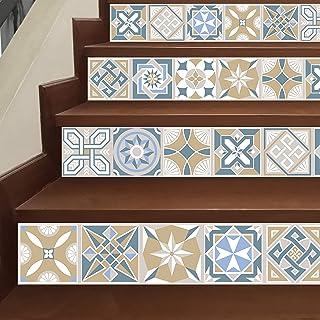 WALPLUS Tiles Wall Stickers 24 Pieces, Mixed, 15 x 15 x 0.02 cm