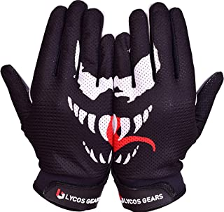 Lycos Gears Football Receiver Gloves (Venom) - Youth/Adult Sizes