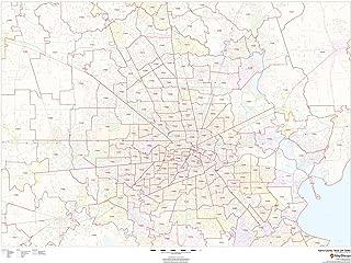 harris county zip code map