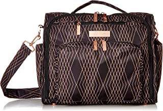 JuJuBe B.F.F Multi-Function Convertible Diaper Backpack/Messenger Bag, Prism Rose