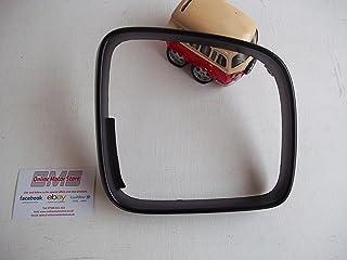 Black, Grained Aftermarket V-0529-6739 Left Passenger Side Wing Mirror Cover