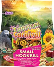 F.M. Brown'S Tropical Carnival Gourmet Bird Food For Parrots, African Greys, And Conures Under 13
