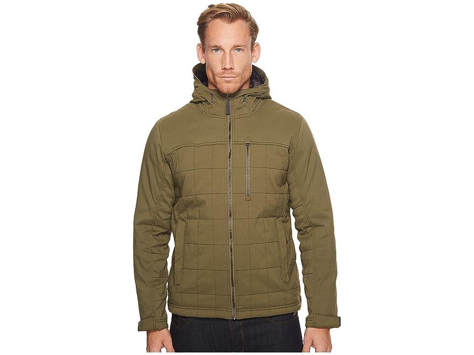 Prana Zion Quilted Jacket (Cargo Green) Men