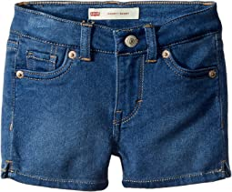 Levi's® Kids - 710™ Super Skinny Fit Soft and Silky Shorts (Toddler)