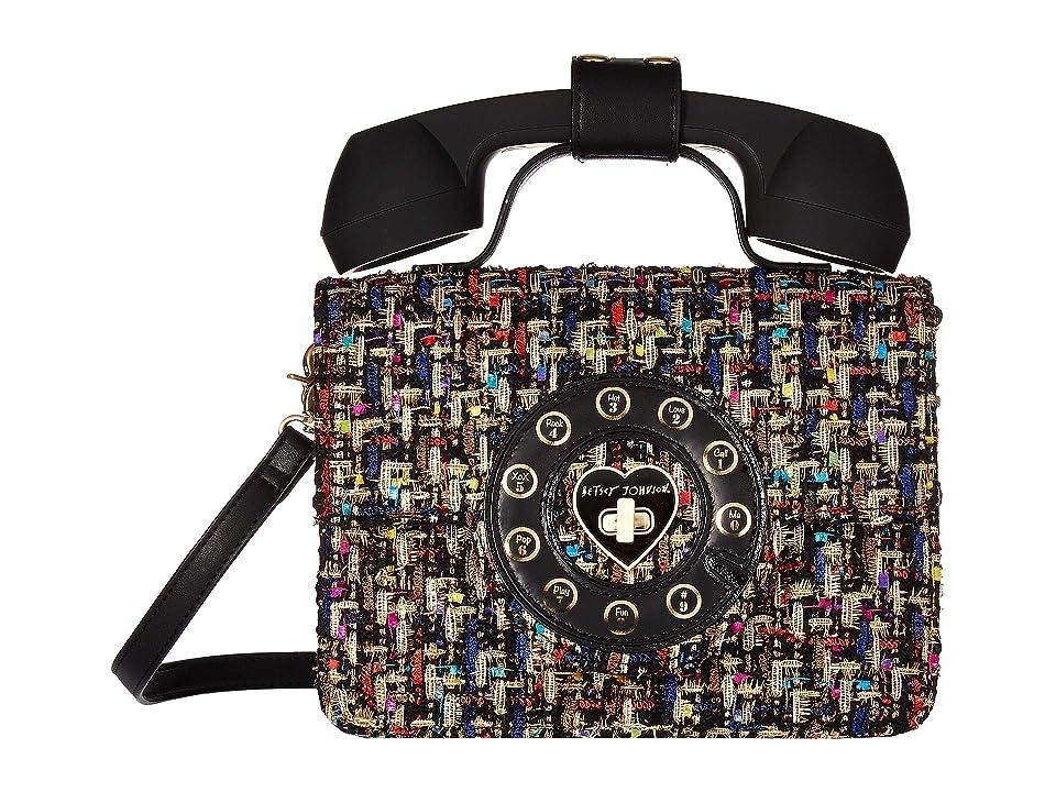 64cf2d039111 Betsey Johnson Answer Me Phone Bag (Multi) Satchel Handbags