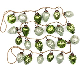 Best mercury glass ornament garland Reviews