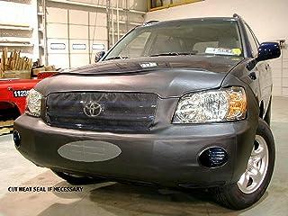Lebra 2 piece Front End Cover Black - Car Mask Bra - Fits - TOYOTA,HIGHLANDER,2004 thru 2007
