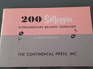 200 Solfeggios - Supplementary Reading Exercises