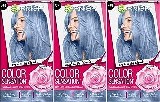 Garnier Hair Color Sensation Hair Cream, Head In The Clouds, (Pack of 3)