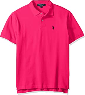 Mens Classic Small Pony Solid Pique Polo Shirt