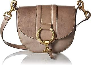frye harness leather saddle bag