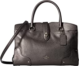 COACH - Metallic Leather Mercer 30