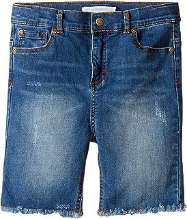Appaman Kids Mens Raw Edge Denim Shorts ( Toddler / Little Kids / Big Kids )