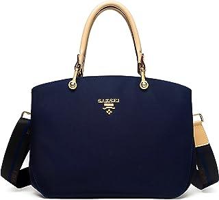 BETIZY Nylon Damen Handtasche Schulterbeutel, Damenhandtaschen Frauen Stilvolle Schultertasche Umhängetasche Geschenk für ...