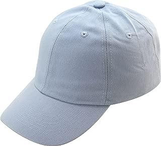 Unisex Stone Washed Cotton Baseball Cap Adjustable Size (7+ Colors)