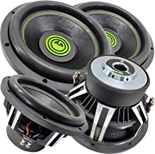 $339 » Pair of Gravity Warzone 12 Inch 6000 Watt Car Audio Subwoofer w/ 4 Ohm DVC Power (2 Woofers)