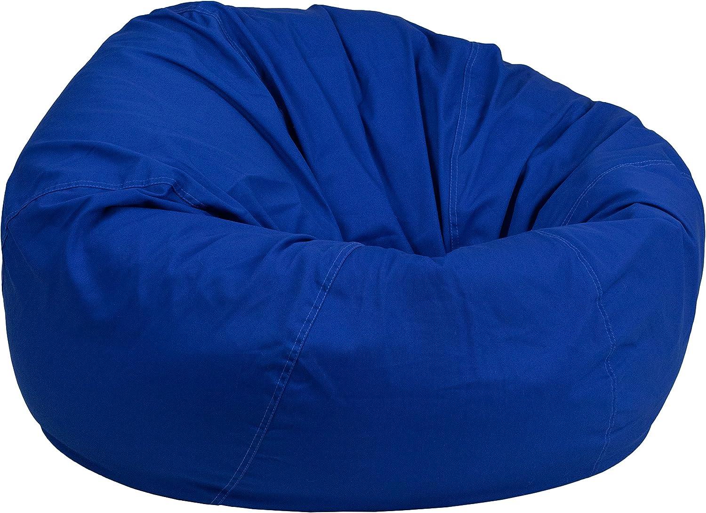 Flash Furniture DG-Bean-Large-Solid-ROYBL-GG Kids Large Bean Bags