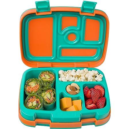 Leak Proof 5 Compartment Bento Style Lunch Box Fuschia Bentgo Kids Brights