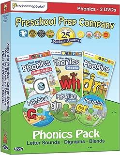 Preschool Prep Series: Phonics Pack - Boxed Set