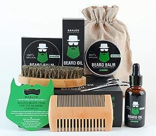 Banjos Beards Beard Grooming Kit | Beard Care Kit For Beard Growth and Maintenance