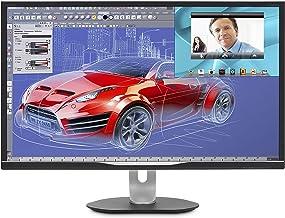 Philips BDM3270QP2 32 inch class LED-Lit monitor, 2560x1440 res, 4ms, 50M:1DCR, VGA, DVI, Display Port, HDMI, USB, Spk