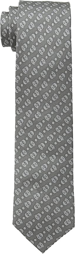 Cufflinks Inc. - Star Wars™ Darth Vader Tight Dot Silk Tie (Toddler/Little Kid/Big Kid)